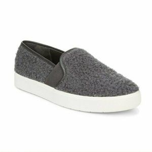 Vince Blair 5 Faux Shearling Slip-On Sneakers